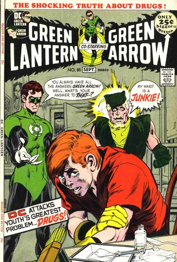Cover (Green Lantern 85 September 1971)