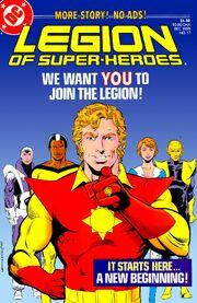 Cover, Legion of Super-Heroes Vol 3 17 (1985)