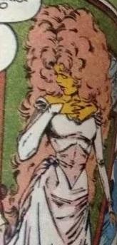 Starfire Wedding Dress (Super Powers 33)