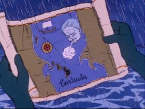 Cartania map