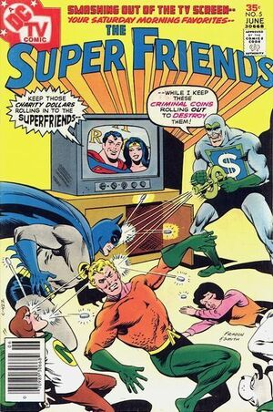 Super-friends 5 (cover)
