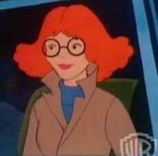 Sally (ex girlfriend, she is a PI)