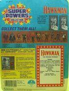 Hawkman Super Powers Figure - BACK