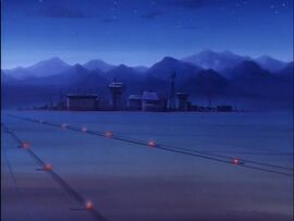 Unnamed US Military Base (09x03 - The Darkseid Deception)