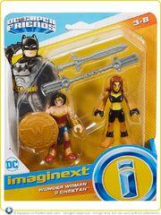 Wonder Woman & Cheetah (Imaginext - DC Super Friends figures)