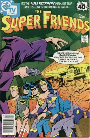 Cover (SuperFriends 18)