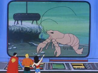 Giant Lobster (01x05 - The Shamon 'U')