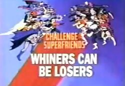 Whiners Can Be Losers