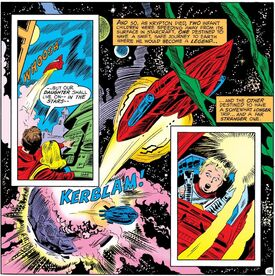 Krypton Two Explodes (Showcase 97)
