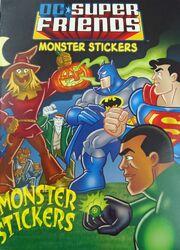 DC Super Friends- Monster Stickers