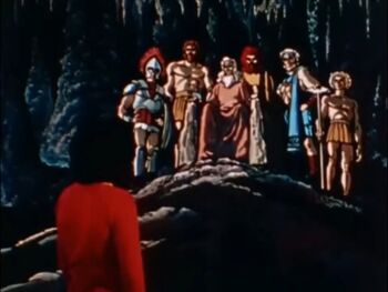 Shazam immortal elders