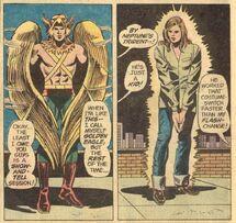Golden Eagle changing (JLA 116) 1
