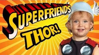 Thor God of Thunder - The Amazing Superfriends!