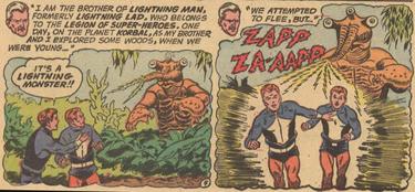 Lightning Lad Origin 1(Superman 247)