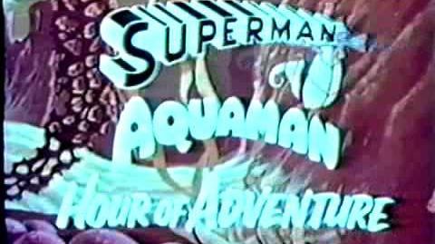 The Superman Aquaman Hour of Adventure-promo