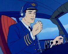 Jet Cargo 847 Pilot