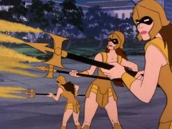 Ocina's Warriors (05x07c - Return of Atlantis)