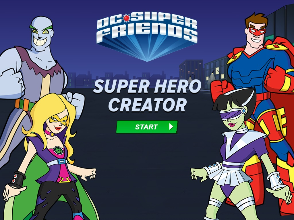 DC Super Friends - Super Hero Creator | SuperFriends Wiki | FANDOM