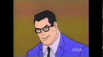 """The Superman Batman Adventures"" USA Cartoon Express promo"
