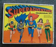 Superadventure Colorforms Set