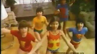 Underoos Underwear 1978 Commercial