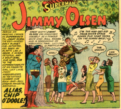 Jimmy as Chip (Supermans Pal 49)