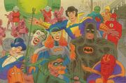 Super Powers artwork by Tom Scioli