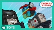 DC Super Friends™ MINIS Mash Ups Origin Story! I DC Super Friends Thomas & Friends