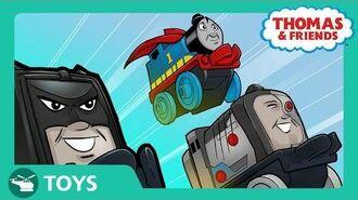 DC Super Friends™ MINIS Mash Ups Origin Story! I DC Super Friends Thomas & Friends