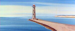 Lighthouses look like a human erection