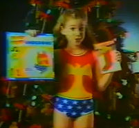 Wonder Woman girl christmas