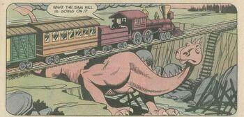 A Gramthel - Exxorian Creature (SuperFriends 18)