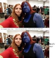 User Noah Tall at Air Capitol Comic-Con