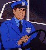 Metropolis Police Man 2 (02x1a - The Brain Machine) Olan Soule