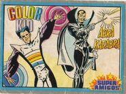 Super Amigos trading cards