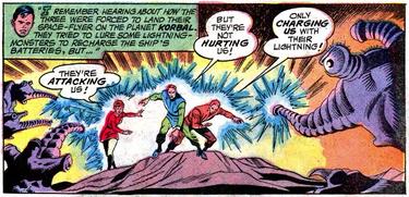Lightning Lad Origin (Superboy 172)