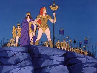 Ocina and Her Warriors (05x07c - Return of Atlantis)