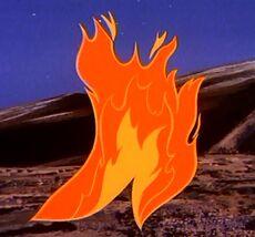Fire phantom
