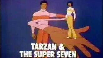 Tarzan & The Super Seven 1980 CBS Cartoon Promo