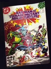 Super Powers Ninja Turtles Comic