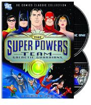 The Super Powers Team Galactic Guardians DVD