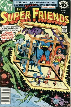 Cover (SuperFriends 16)