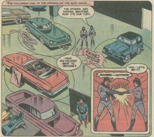 Gotham Coliseum (SuperFriends 19)