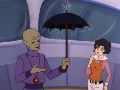 Anthro's Umbrella (01x01 - The Power Pirate)