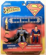 Crusader Batman and Power Flight Superman