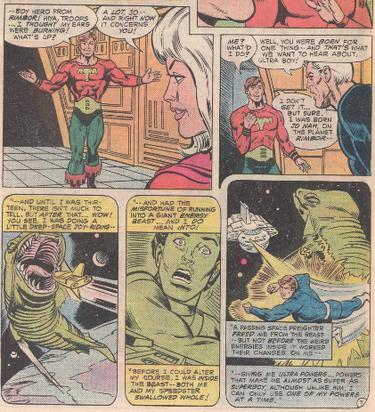 Ultra Boy Origin (Secrets of the Legion of SH 2)