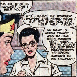 Diana Prince White (DC SPecial Series 19 Nov. 1979)