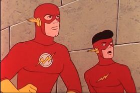 Barry and Kid Flash (Take A Giant Step)
