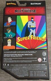 Batman (DC Multiverse Super Friends figure) (reverse card)