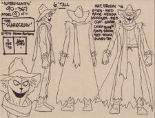 Alex Toth Scarecrow Model Sheet
